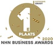 Logo winnaar NHN Business Awards 2020